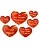 Набор комплиментов пожеланий 'Сердце'11,4*14,5см  893065