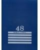 Книга Учета   48л кл. 'Синяя' на скрепке 48-8009 Проф-Пресс (Россия)