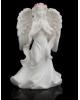 Сувенир полистоун Ангел девушка в розовом венке Надежда микс 1161706