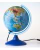 Глобус Земли д-р 150 физический с подсветкой классик 1072878