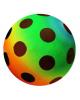 Мяч резиновый радуга  1663