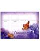 Расписание уроков А4  'Бабочки' 1143268