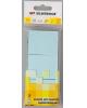 Бумага клейкая для заметок 50*40мм 3шт.х100л.голубой (пластиковый пакет ) атр 682011-04