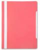 Скоросшив-ль А4 розовый, прозр. верхн. лист БЮРОКРАТ 1/20 PS20PINK