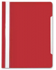 Скоросшив-ль А4 малиновый, прозр. верхн. лист БЮРОКРАТ 1/20 PS20RASP