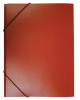 Папка на резинке А4 корешок 15 мм пластик 0,4 мм (красная)  PR04red
