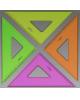 Треугольник 7 см45* NEON 4 цв ТК22 СТАММ