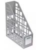 Лоток вертикальный серый (85 мм) ЛТ11