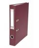 Папка регистратор 50 мм с арочным механизмом А4 Бумвинил Бордо Хатбер 5ПР_00006
