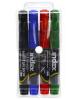 Набор маркеров для доски 4 цв. сменные чернила IMWR101/4