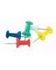 Кнопки-гвоздики 50 шт цветные D00130 DOLCE COSTO