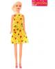 Кукла модель 'Красотка в коротком платье' Микс 1647059