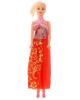 Кукла модель 'Красотка в длинном платье' Микс 1647060