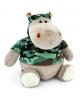 Мягкая игрушка 'Бегемот военный' 15 см. 1015010