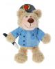 Мягкая игрушка мишка 'Полицейский' 17 см. 1121687