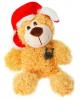 Мягкая игрушка мишка 'Талисман на удачу' 17 см. 1121697