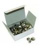 Кнопки 50шт. никелированные D00128 DOLCE COSTO