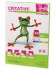 Бумага CREATIVE color (Креатив) А4 80г/м 50л. неон салатовая БНрr-50 44882