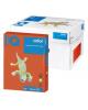 Бумага А4 500л IQ/Cоlor А4 (интенсив красный кирпич) ZR09 12726
