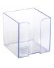 Подставка для бумажного блока Стамм пластик. прозрачная ПЛ41