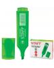 Текстмаркер STAFF эконом скошенный наконечник 1-5мм зеленый 150727