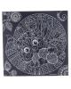 Гравюра 'Котик' с металлическим эффектом серебро+штихель 1906700