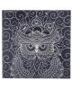 Гравюра 'Сова' с металлическим эффектом серебро + штихель 1906702