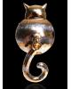Значок 'Котя Мотя' цвет золото 2306053