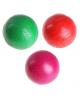 Мячик диаметр 100 мм одноцветный лакированный микс 166054