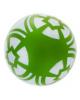 Мяч 'Елочка' лакированный 489122