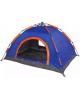 Палатка  2-местная 1-слойная зонтичного 805-048типа цвет сине-оранжевый 200*150*110   805-048