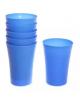 Набор стаканов пластиковых 6шт  300мл 'Лето' 006 Селфи