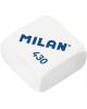 Ластик белый прямоугольный СММ430 MILAN 1*30