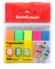 Пластиковые флажки с клеевым краем ЕК 31177 5*12*44мм неон