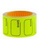 Ценник малый 30*20 мм желтый  200шт/рулон OfficeSpace Spt_4171