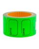 Ценник малый 30*20мм зеленый   200шт/рулон OfficeSpace Spt_4174