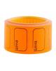 Ценник малый 30*20 мм оранжевый 200 шт/рулон OfficeSpace Spt_4180