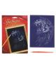 Гравюра А5 'Лев' с металлическим эффектом лазури+ фиолетовое покр.1145712