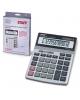 Калькулятор STAFF настольный металлический STF 1712 12разр.  двойн питание 200*152мм  250121