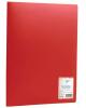 Папка 20 ф красная Office Space 15мм F20L3_280