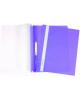 Скоросшиватель пласт. фиолетовая с перфорац. ASp 04207