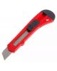 Нож канцелярский 18 мм красно-черный D00152 DOLCE COSTO