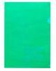 Папка угол А4  180мкм зеленый 00104 Хатбер