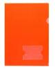 Папка угол А4  180мкм красный  00103 Хатбер