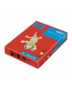 Бумага А4 500л IQ/Cоlor А4 (кораллово-красный) 00877