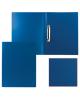 Папка 2 кольца 21мм Staff синяя до 80л. 225716