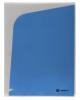 Папка угол А4  180мкм белый/синий  4отд. LF0403-ВL