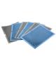 Папка-уголок 0,20мм синий 3 отд. Lamark 128/61151