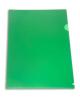 Папка-угол А4 непр. зеленая E310N/1gr