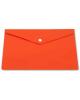 Папка-конверт А5 на кнопке оранжевая  РК804А5Nor Бюрокр